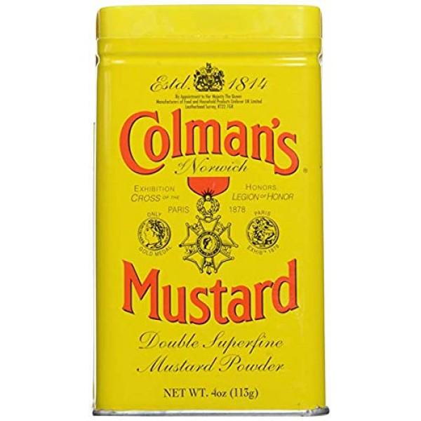 Colmans Dry Mustard 4 oz 3