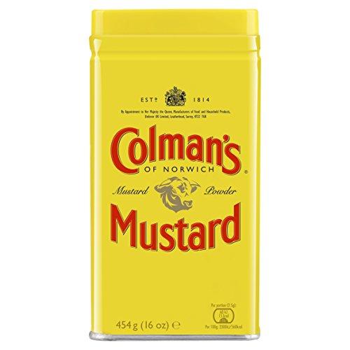 Colmans Mustard Powder Large 454 g