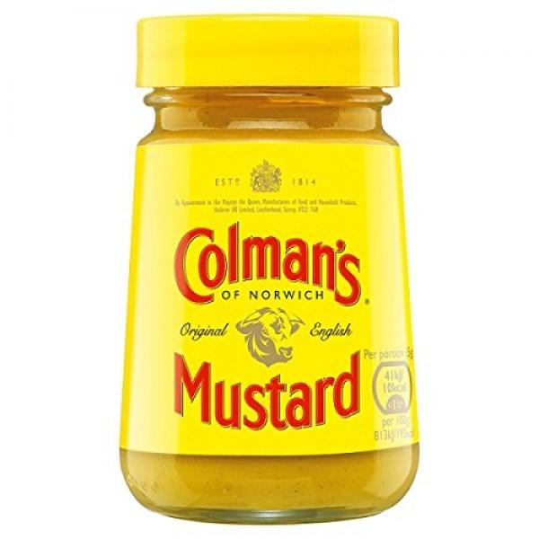 Colmans Original English Mustard 6 X 100g Jars
