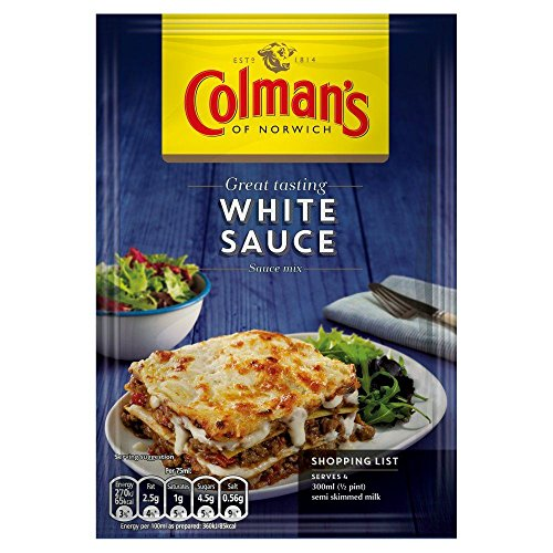 Colmans White Sauce Mix - 25g - Pack of 2 25g x 2