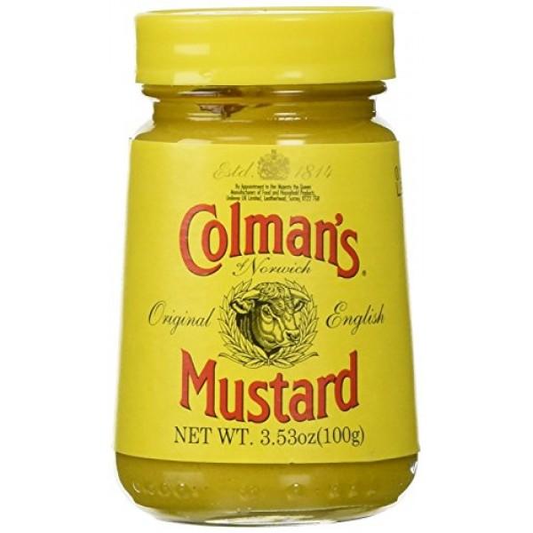 COLMANS Original English Mustard, 3.53 Ounce