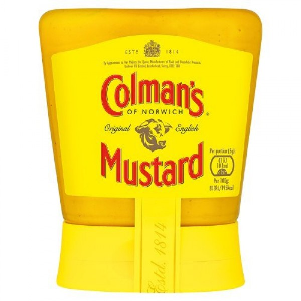 Colmans Original English Squeezy Mustard Imported From The UK E...