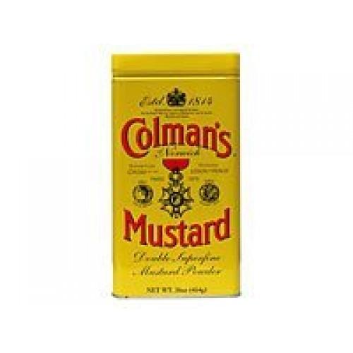 Colmans Dry Mustard Powder, 16 Ounce