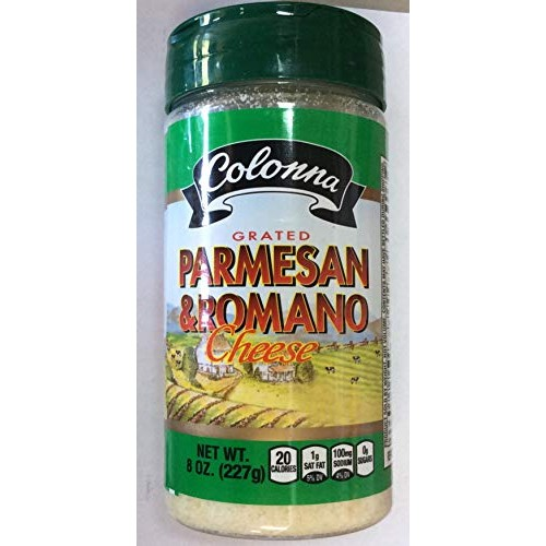 Colonna Grated Parmesan & Romano Cheese 8 oz One pack