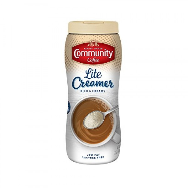 Community Coffee Lite Creamer, 11 Ounce Pack of 6