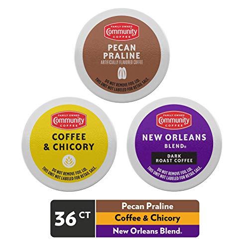 Community Coffee Taste of New Orleans Variety Pack Single Serve,...
