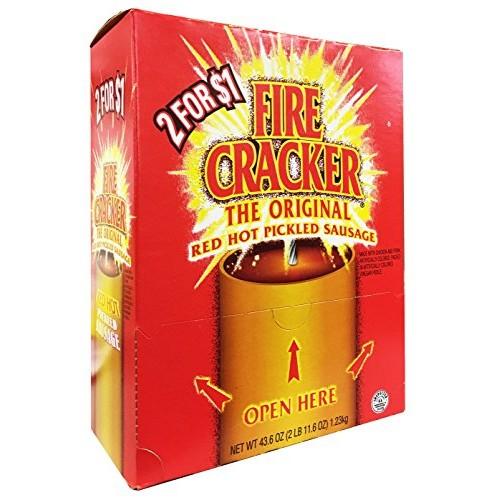 Penrose Fire Cracker Original Red Hot Pickled Sausage - Mouthwat...