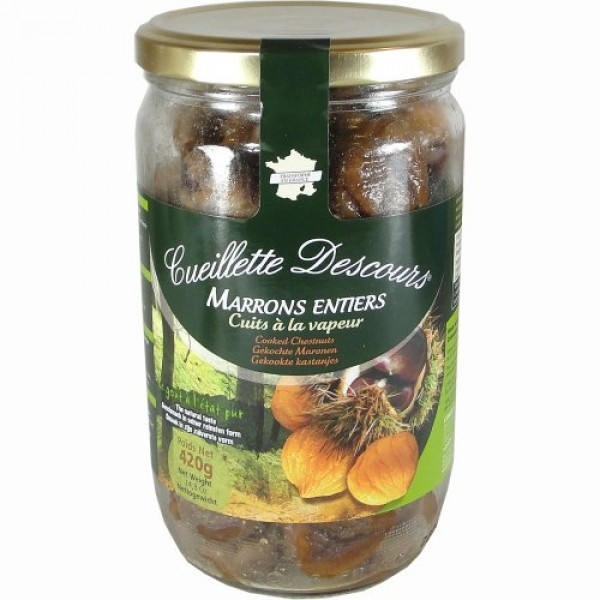 Concept Fruits Whole Roasted Chestnuts in Jar-Large 14.8 oz