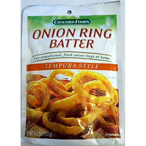 Concord Foods Onion Ring Batter Mix - 3 of 5.2-ounce pouch 5 se...