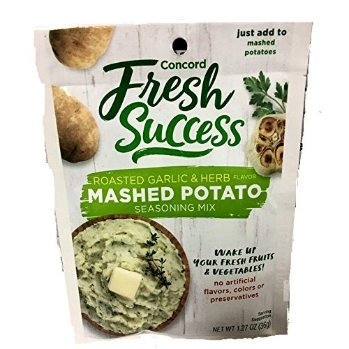 Concord Mashed Potato Seasoning Mix, 1.27-Ounce Pouches Pack of...
