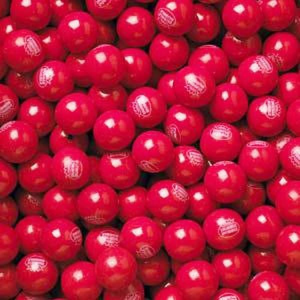 Bubble Gum Balls - Hot Chew Cinnamon, 5 lb bag