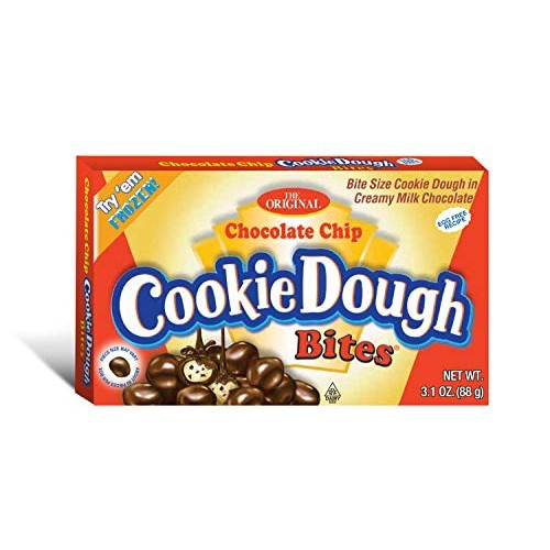 Cookie Dough Bites, Chocolate Chip, 3.1 Ounce Pack of 12