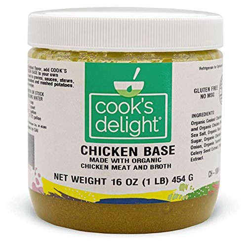 Chicken Soup Base made with Organic Chicken Meat and Broth by Co...
