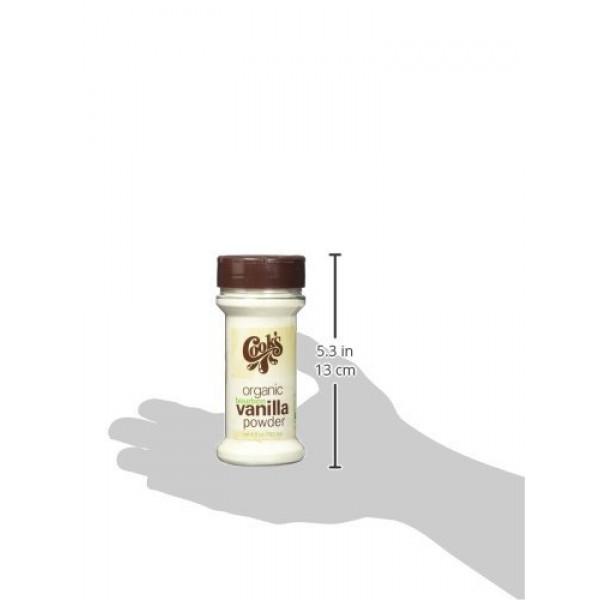 Cook's, Organic Pure Vanilla Powder, World's Finest Gourmet Fres...