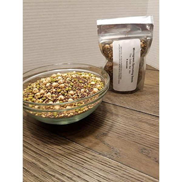 COOL BEANS n SPROUTS Brand, The Salad Bar Mix seeds for sprout...