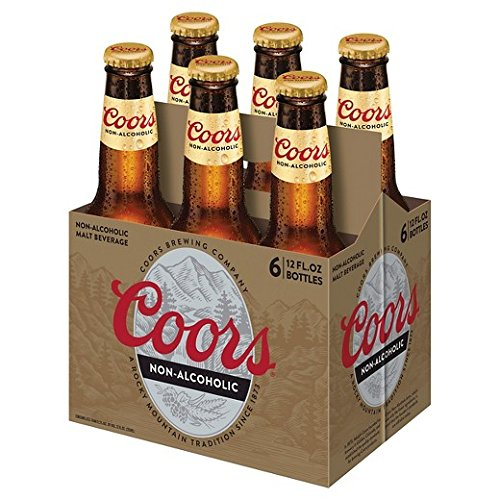 Coors Non-alcoholic Beer 6 Bottles