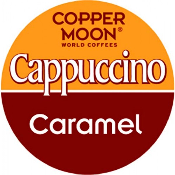Copper Moon Cappuccino, Single Serve Pods Compatible with Keurig...