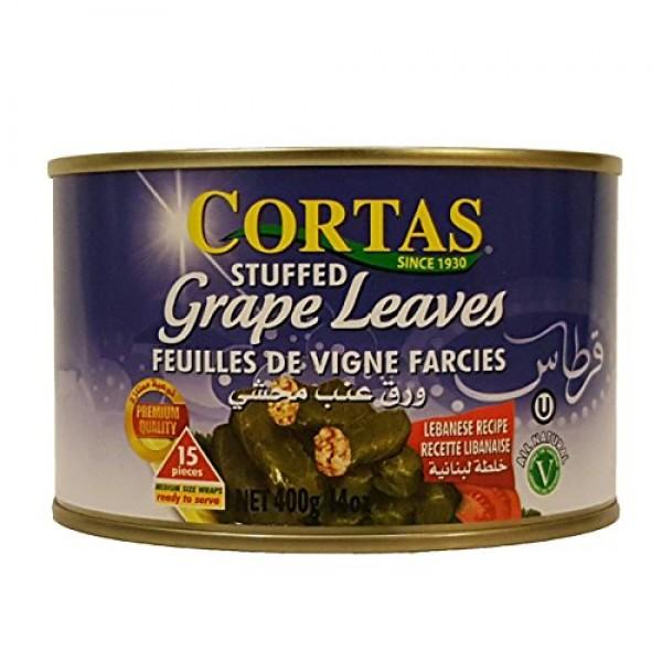 Cortas Stuffed Grape Leaves 14oz pack of 3