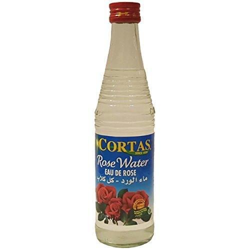 Cortas Rose Water 10 FL OZ 300ml, Pack of 3