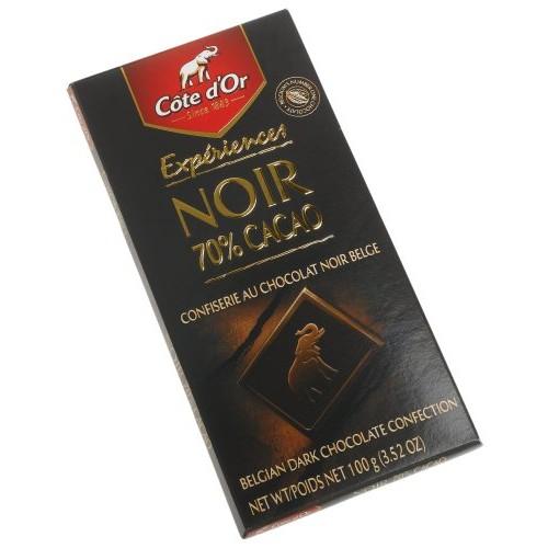 Cote Dor Dark (70%) Intense Chocolate Cocoa, 3.5-Ounce Bars (Pa...