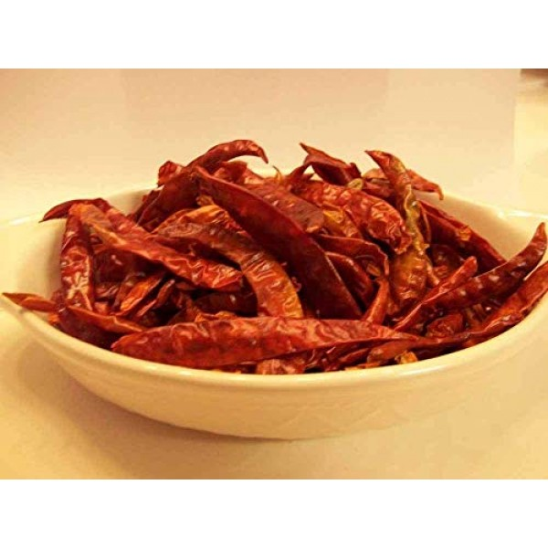 2 oz Cayenne Pepper - Whole, Dried Peppers- Delicious Fresh Spic...