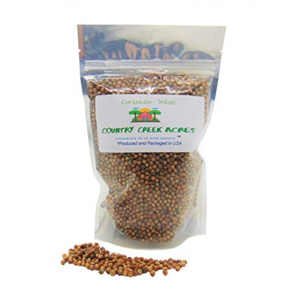 2 oz Whole Coriander Seed for Seasoning-Add Bursts of citrusy, H...