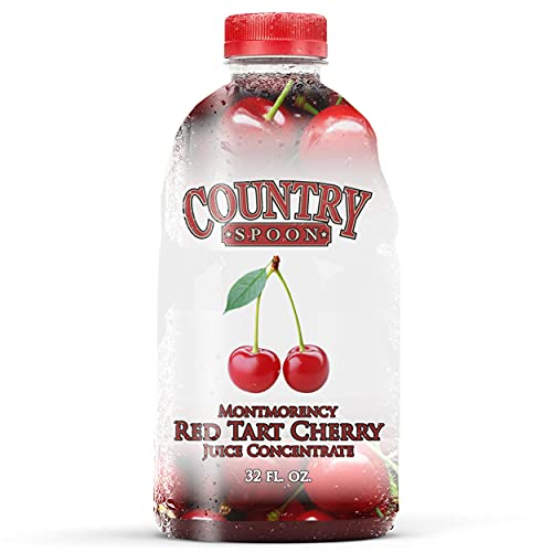 Country Spoon Montmorency Red Tart Cherry Juice Concentrate 34 ...