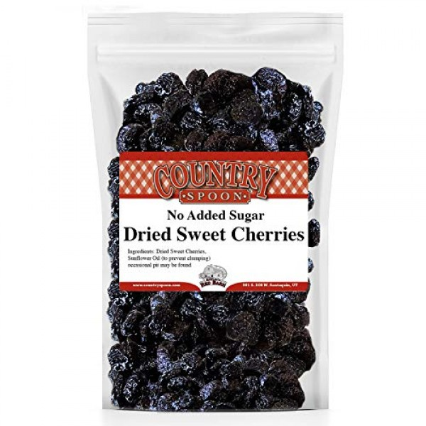 Country Spoon No Sugar Added Dried Sweet Cherries 1 lb.
