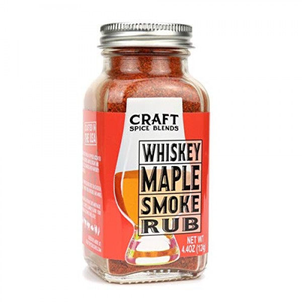 Whiskey Maple Smoke - All Purpose Rub/Seasoning - Craft Spice Bl...