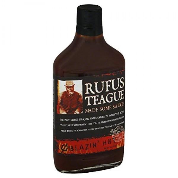 Rufus Teagues Award Winning BBQ Sauces - OU Kosher - Blazin Ho...