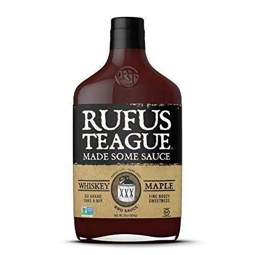 Rufus Teagues Award Winning BBQ Sauces - OU Kosher - Whiskey Ma...