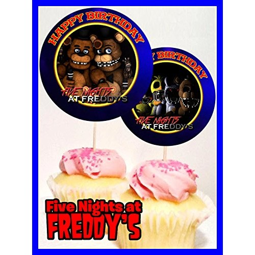Crafting Mania LLC. 12 Five Nights at Freddys Birthday Inspired...