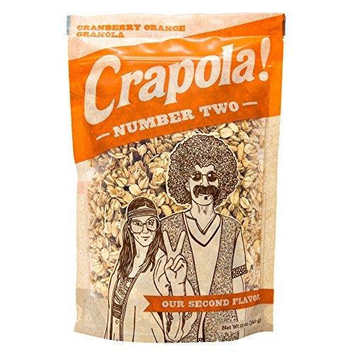 Crapola #2 Cranberry Orange Granola Cereal - All Natural, Health...