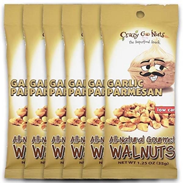 Crazy Go Nuts Walnuts - Healthy Snacks, Keto, Low Carb, Gluten F...