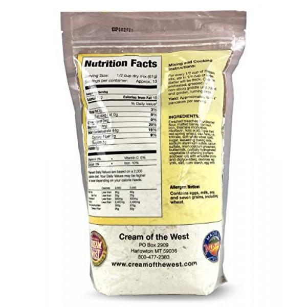 Cream of the West, Whole Grain Flapjack Mix, 7-Grain Buttermilk ...
