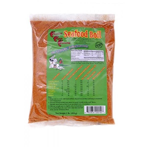 Creative Cajun Cooking Seafood Boil Seasoning 1 lb bag