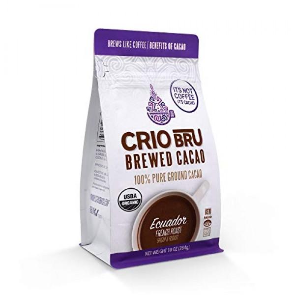 Crio Bru Ecuador French Roast 10oz Bag | Organic Healthy Brewed ...