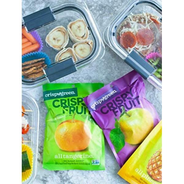 Crispy Green Freeze-Dried Fruit, Single-Serve, Variety Pack, 0.3...