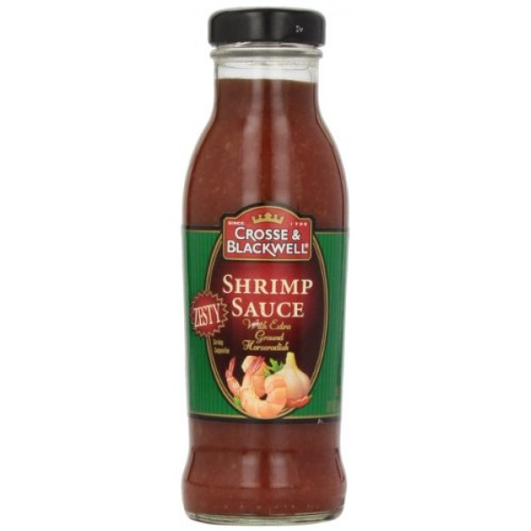 Crosse & Blackwell Zesty Shrimp Sauce, 12 oz