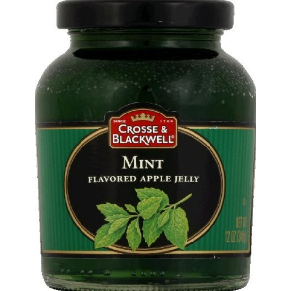 Crosse & Blackwell Jelly Mint Apple, 12 oz