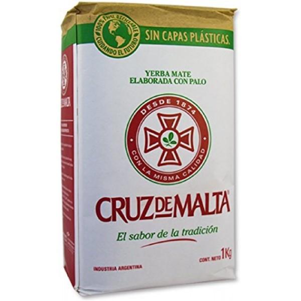 Cruz De Malta Yerba Mate 1kg - 2.2lbs