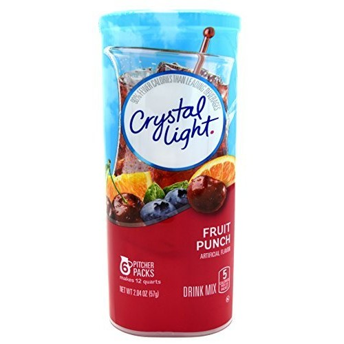 Crystal Light Fruit Punch Drink Mix (12-quart), 2.04-ounce Packa...