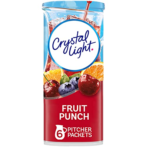 Crystal Light Drink Mix, Fruit Punch, Pitcher Packets, 6 Count ...