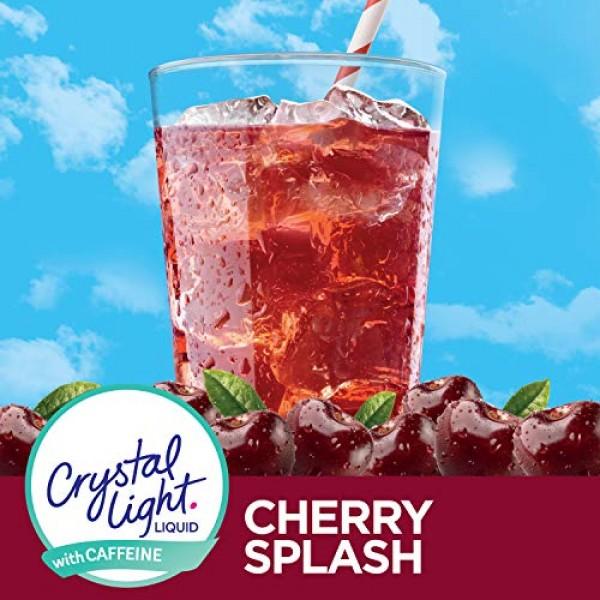 Crystal Light Cherry Splash Liquid Energy Liquid Drink Mix 1.62...
