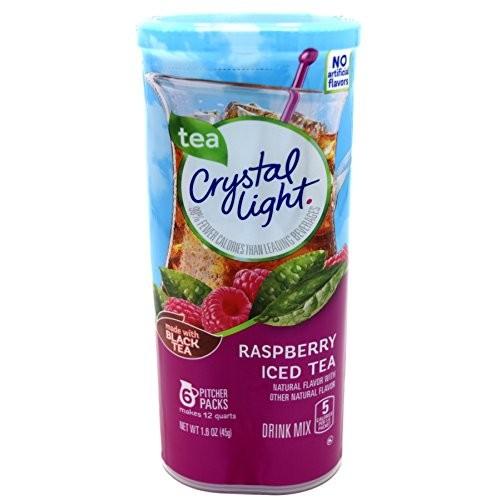 Crystal Light Raspberry Iced Tea, 12-Quart 1.6-Ounce Canister (P...