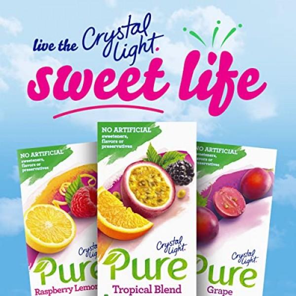 Crystal Light Peach Iced Tea Drink Mix 72 Pitcher Packets, 12 P...
