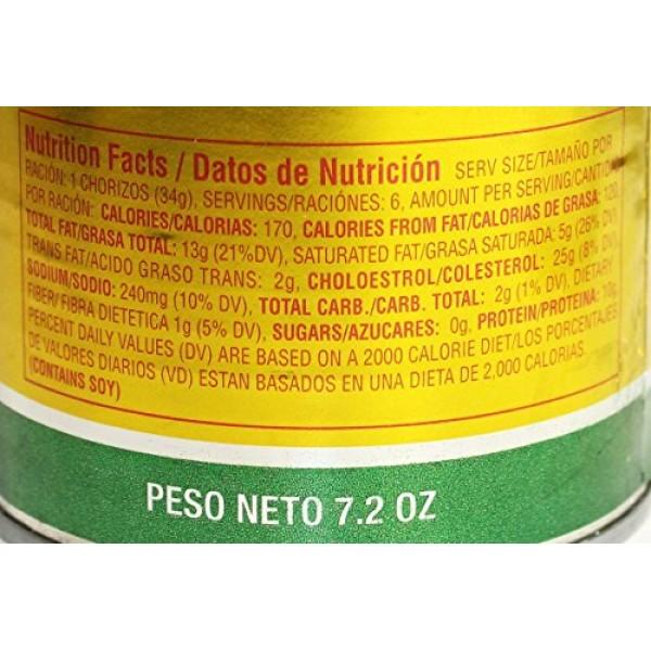 Chorizos in lard El Ebro 7.2 oz