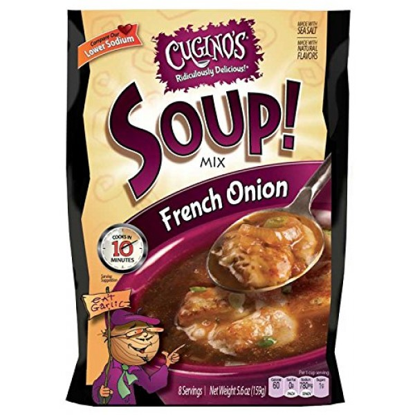 Cuginos French Onion Soup Mix Formerly Baked Burgundy French O...