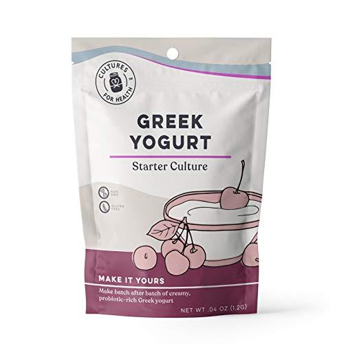 Cultures For Health Greek Yogurt Starter | Re-use Heirloom Yogur...