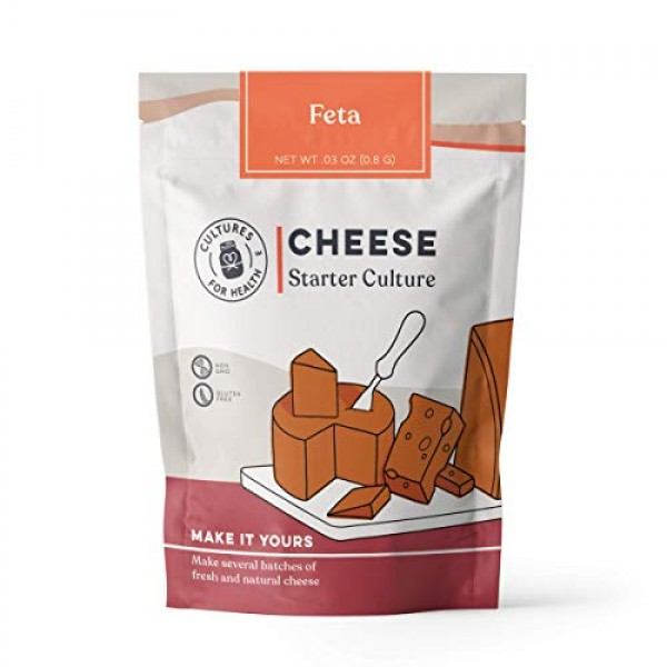 Feta Cheese Starter Culture   Cultures for Health   Tangy, delic...
